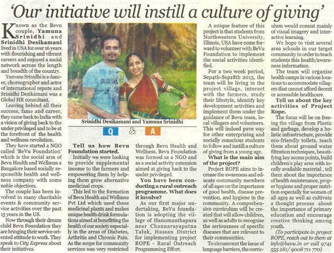 bevu in times of india